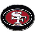 San Francisco 49ers Logo Belt Buckle