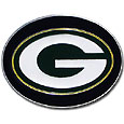 Green Bay Packers Logo Belt Buckle