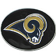 Los Angeles Rams Logo Belt Buckle