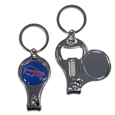 Buffalo Bills Nail Care/Bottle Opener Key Chain