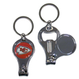 Kansas City Chiefs Nail Care/Bottle Opener Key Chain