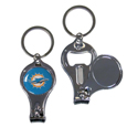Miami Dolphins Nail Care/Bottle Opener Key Chain