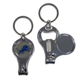 Detroit Lions Nail Care/Bottle Opener Key Chain