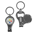 Pittsburgh Steelers Nail Care/Bottle Opener Key Chain