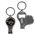 Jacksonville Jaguars Nail Care/Bottle Opener Key Chain