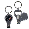 Houston Texans Nail Care/Bottle Opener Key Chain