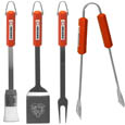 Chicago Bears 4 pc BBQ Set