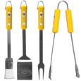 Green Bay Packers 4 pc BBQ Set