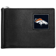 Denver Broncos Leather Bill Clip Wallet