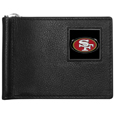 San Francisco 49ers Leather Bill Clip Wallet