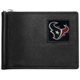 Houston Texans Leather Bill Clip Wallet