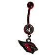 Arizona Cardinals Navel Ring