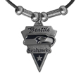 Seattle Seahawks Classic Cord Necklace