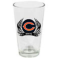 Chicago Bears Screen Printed Pint Glass