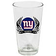 New York Giants Screen Printed Pint Glass