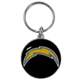 Los Angeles Chargers Carved Metal Key Chain