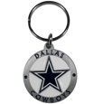 Dallas Cowboys Carved Metal Key Chain