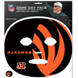 Cincinnati Bengals Game Face Temporary Tattoo