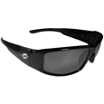 Miami Dolphins Black Wrap Sunglasses