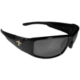New Orleans Saints Black Wrap Sunglasses