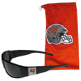 Tampa Bay Buccaneers Chrome Wrap Sunglasses and Bag