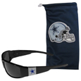Dallas Cowboys Chrome Wrap Sunglasses and Bag