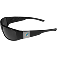 Miami Dolphins Chrome Wrap Sunglasses