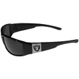 Oakland Raiders Chrome Wrap Sunglasses