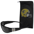 New Orleans Saints Chrome Wrap Sunglasses and Bag