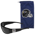 Baltimore Ravens Chrome Wrap Sunglasses and Bag