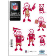 San Francisco 49ers Family Decal Set Small