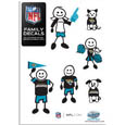 Jacksonville Jaguars Family Decal Set Small