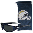 Los Angeles Chargers Sunglass and Bag Set