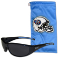 Tennessee Titans Sunglass and Bag Set