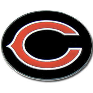 Chicago Bears Logo Buckle - Officially licensed Chicago Bears Logo Buckles feature a prominent Chicago Bears logo with a hand enameled finish.  Officially licensed NFL product Licensee: Siskiyou Buckle Thank you for visiting CrazedOutSports.com