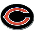 Chicago Bears Logo Belt Buckle