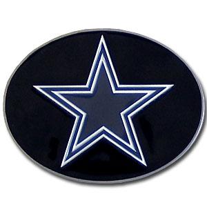 Dallas Cowboys Logo Buckle - Officially licensed Dallas Cowboys Logo Buckles feature a prominent Dallas Cowboys logo with a hand enameled finish.  Officially licensed NFL product Licensee: Siskiyou Buckle .com