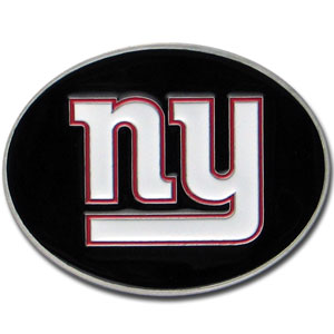 New York Giants Logo Buckle - Officially licensed New York Giants Logo Buckles feature a prominent New York Giants logo with a hand enameled finish. Officially licensed NFL product Licensee: Siskiyou Buckle .com