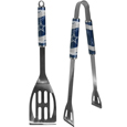 Dallas Cowboys 2 pc. Steel BBQ Tool Set - This Dallas Cowboys stainless steel 2 pc. BBQ set is a tailgater's best friend. The colorful and large Dallas Cowboys graphics let's everyone know you are a fan! The Dallas Cowboys stainless steel 2 pc. BBQ set includes a spatula and tongs with the Dallas Cowboys proudly display on each tool. Officially licensed NFL product Licensee: Siskiyou Buckle Thank you for visiting CrazedOutSports.com