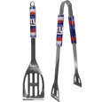 New York Giants 2 pc. Steel BBQ Tool Set - This New York Giants stainless steel 2 pc BBQ set is a tailgater's best friend. The colorful and large New York Giants graphics let's everyone know you are a fan! The New York Giants 2 pc. Steel BBQ Tool Set includes a spatula and tongs with the New York Giants proudly display on each tool. Officially licensed NFL product Licensee: Siskiyou Buckle Thank you for visiting CrazedOutSports.com