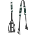 New York Jets 2 pc. Steel BBQ Tool Set - This New York Jets stainless steel 2 pc. BBQ set is a tailgater's best friend. The colorful and large New York Jets graphics let's everyone know you are a fan! The New York Jets stainless steel 2 pc. BBQ set includes a spatula and tongs with the New York Jets proudly display on each tool. Officially licensed NFL product Licensee: Siskiyou Buckle Thank you for visiting CrazedOutSports.com