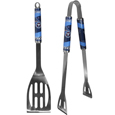 Tennessee Titans 2 pc. Steel BBQ Tool Set - This Tennessee Titans 2 pc. Steel BBQ Tool Set is a tailgater's best friend. The colorful and large Tennessee Titans graphics let's everyone know you are a fan! The Tennessee Titans 2 pc. Steel BBQ Tool Set includes a spatula and tongs with the Tennessee Titans proudly display on each tool. Officially licensed NFL product Licensee: Siskiyou Buckle .com