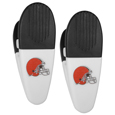 Cleveland Browns Mini Chip Clip Magnets, 2 pk
