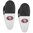 San Francisco 49ers Mini Chip Clip Magnets, 2 pk