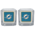 Miami Dolphins Graphics Candle Set