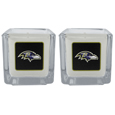 Baltimore Ravens Graphics Candle Set