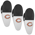 Chicago Bears Mini Chip Clip Magnets, 3 pk