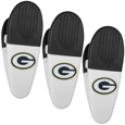 Green Bay Packers Mini Chip Clip Magnets, 3 pk