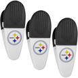 Pittsburgh Steelers Mini Chip Clip Magnets, 3 pk