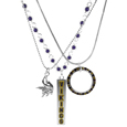 Minnesota Vikings Trio Necklace Set